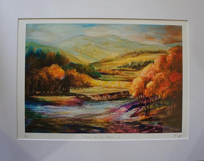 'Across the Dee, Aboyne'  Myrtle Watt