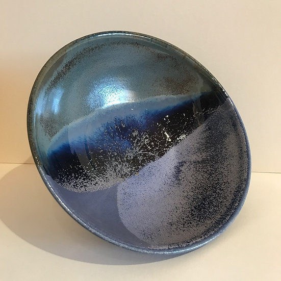 'Blue Wave Bowl'  Fran Marquis