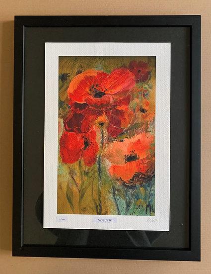 'Poppy field'   Myrtle Watt