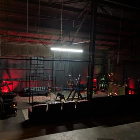 filming set, dungeon, film dungeon, los