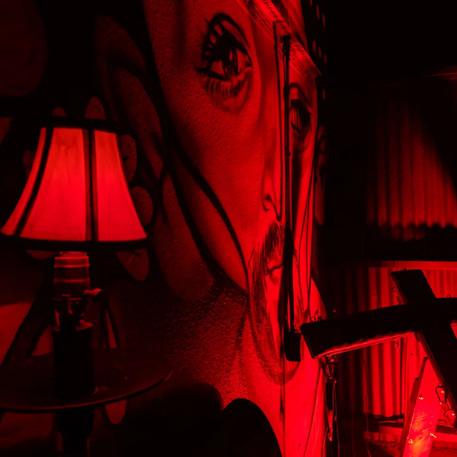 scary set design, haunted mansion, haunt