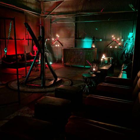 vampire dungeon, dark, dark set design,