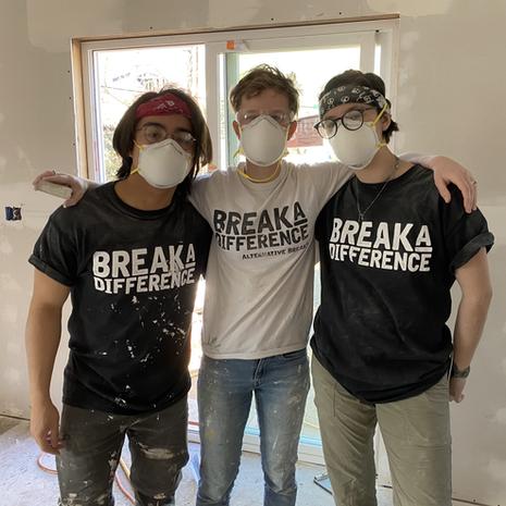 Houston Volunteers Rebuilding Homes Damaged by Hurricane Sandy