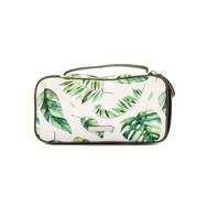 Tropical makeup pouch
