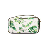 Tropical makeup pouch