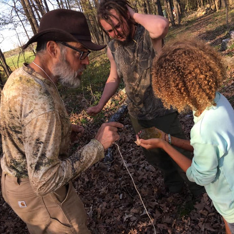 Teaching Little Ones About Spotted Salamander Eggs