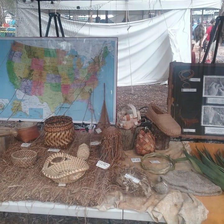 Exhibit At The Silver River Primitive Event