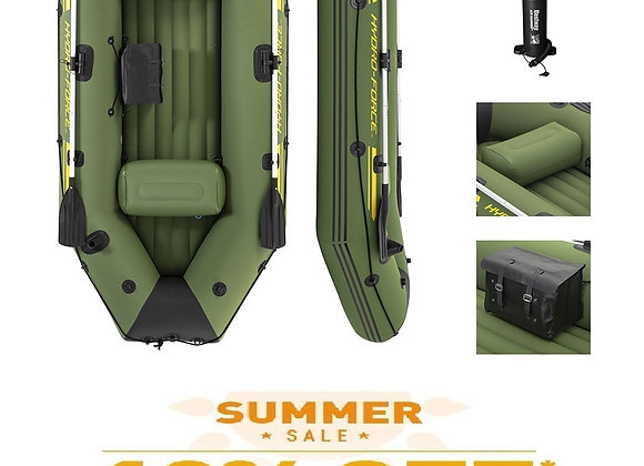 NEW Inflatable Boat 65096 Bestway Hydro-Force Marine Pro