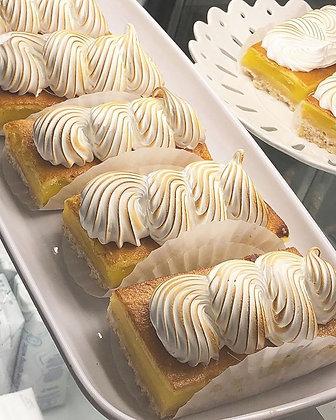 Lemon Bar with Toasted Meringue