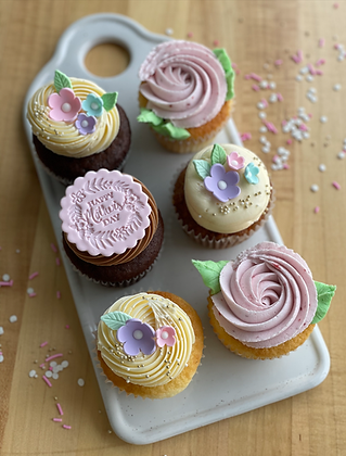 PRE-ORDER: Mother's Day Cupcake Box