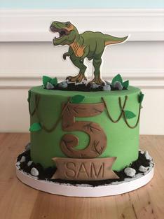 Scary Dino Cake