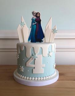Frozen Cake - Fondant