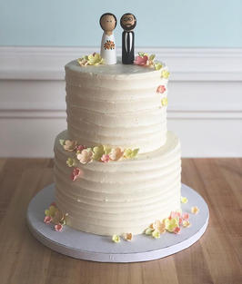 Rustic Iced with Sugar Florals