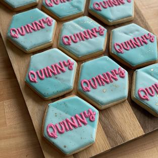 Quinny Colourblock Hexagons