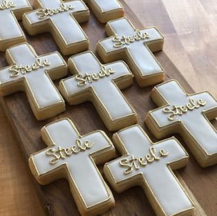 Gold accented Crosses