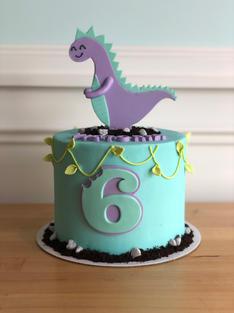 Cute Dino Cake
