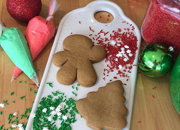 Holiday Cookie Decorating Kit - Set of 10 Mini Kits
