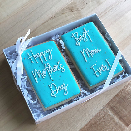 PRE-ORDER: Happy Mother's Day Boxed Cookie Duo