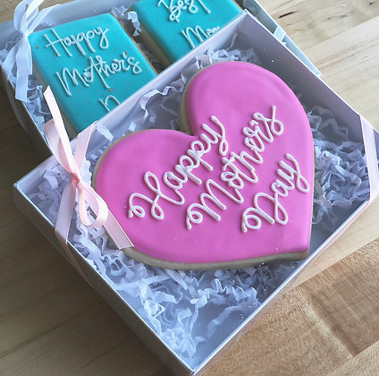 PRE-ORDER: Happy Mother's Day Jumbo Boxed Cookie