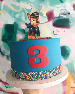 Character Topped Cake