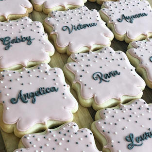 Personalized Polka Dots