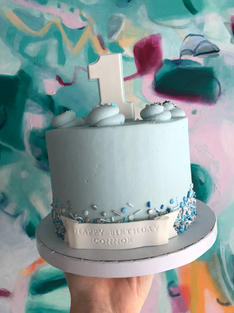Pastel Blue Party Sprinkle