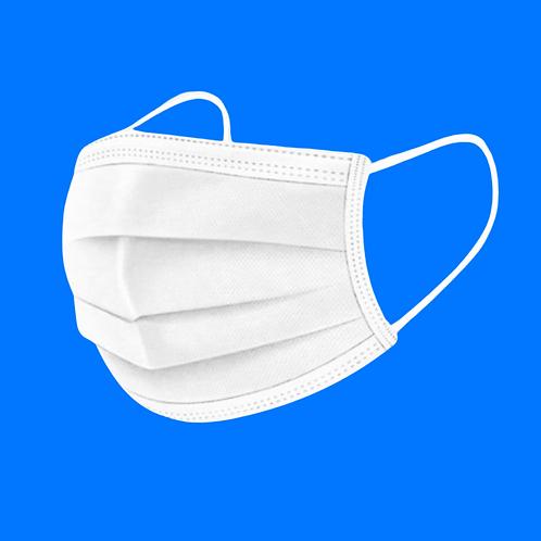 ProtectMed Cerrahi Maske Beyaz 3 katlı Telli 2500 Adet