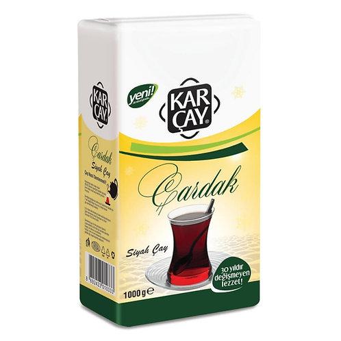 Karçay Çardak Siyah Çay 1000 gr 12 Adet