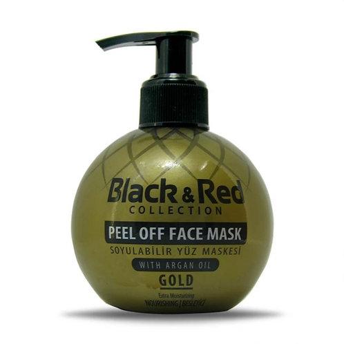 Black & Red Soyulabilir Maske Çeşitleri 250Ml