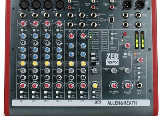 Allen&heat Zed 10FX
