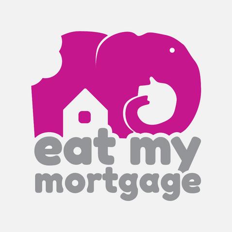 Eat my mortgage logo