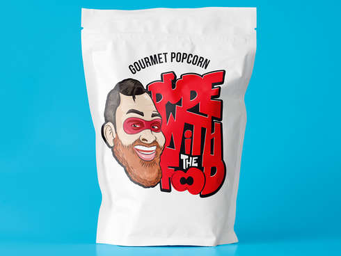 Dude With the Food Popcorn