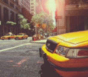 Os táxis amarelos