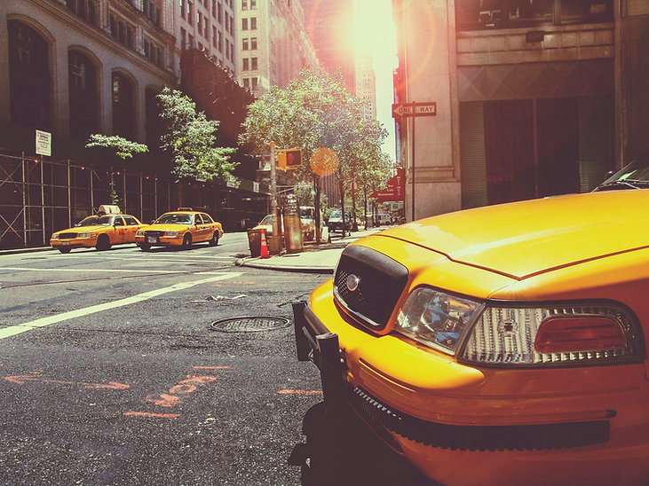 Yellow Cabs
