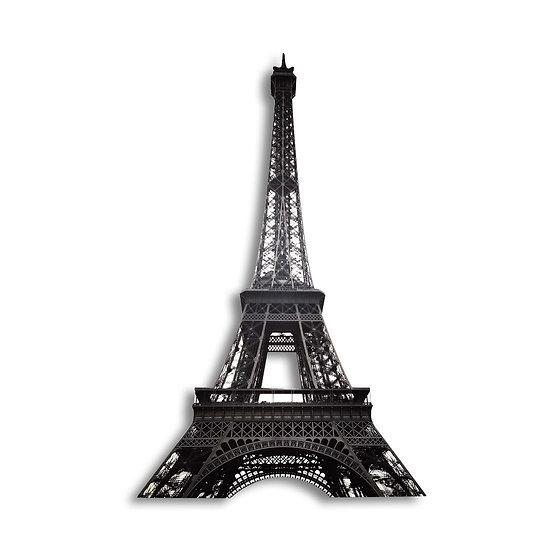 Manie Wall Artwork Sagoma Torre Eiffel da parete in forex