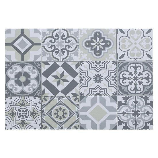 Tovaglietta in vinile modello Mosaico in 8 versioni