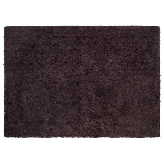 Tappeto morbido a pelo lungo grigio 160x230
