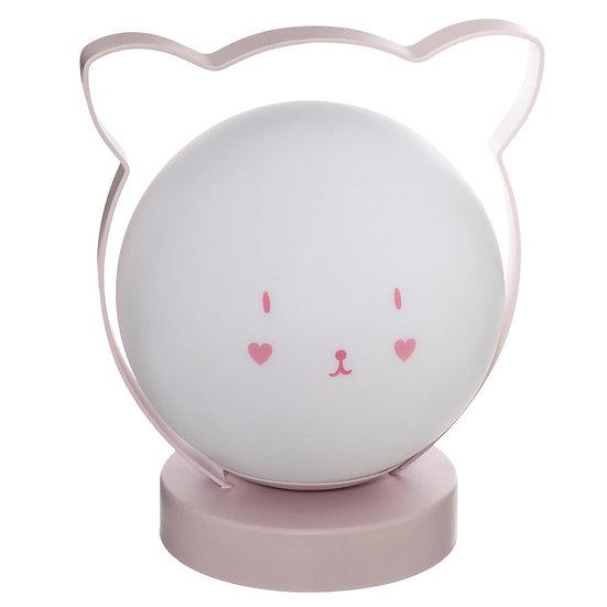 Lampada a sfera a forma di gatto