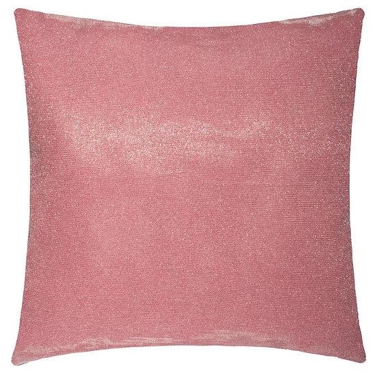 Cuscino rosa in poliestere