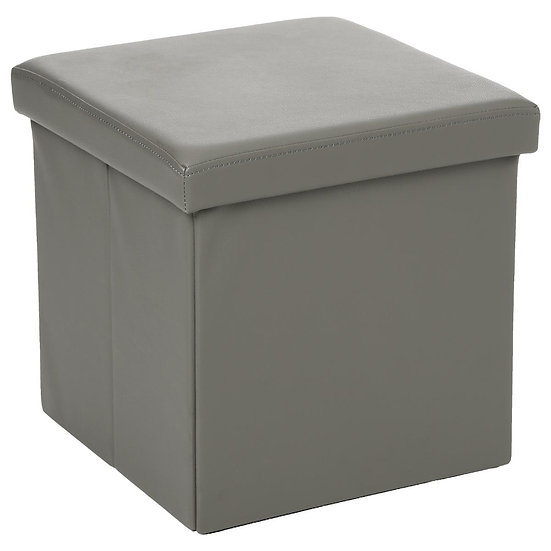 Pouf quadrato pieghevole in PVC 38x38
