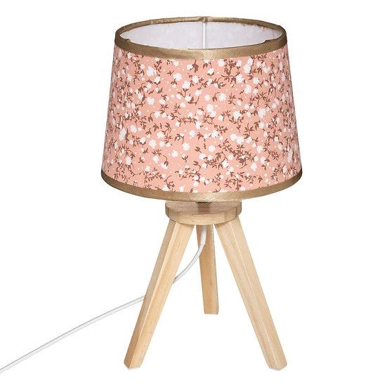 Lampada 3 piedi Liberty in legno