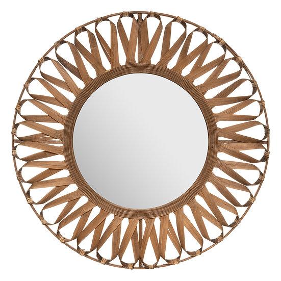 Specchio in bambù modello Eve