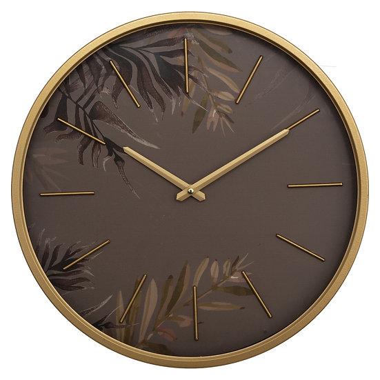 Orologio in metallo modello Anais floreale D39