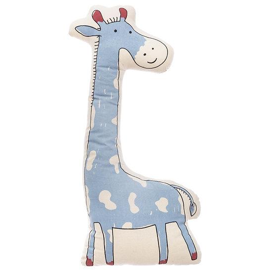Cuscino a forma di Giraffa Blu