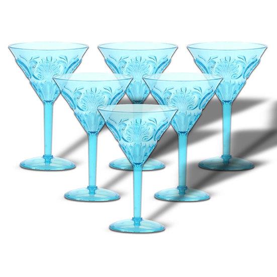 Sheratonn Set da 6 Coppa Martini modello Decò