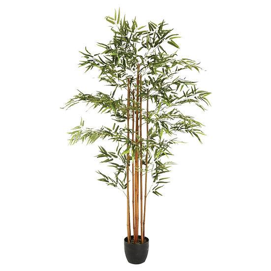 Bambù artificiale in vaso H180