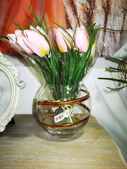 LSA International Malika Grand - vaso di vetro per fiori