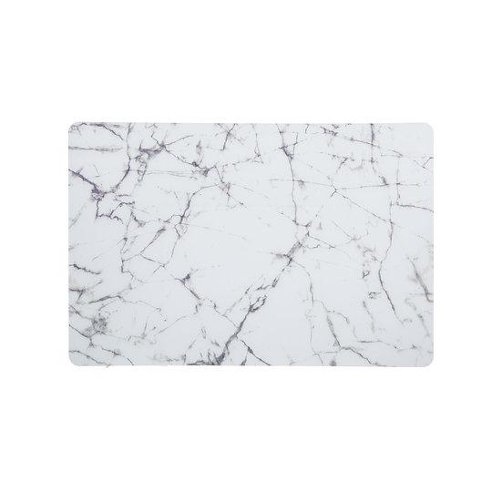 Tovaglietta in plastica effetto marmo in 2 colori