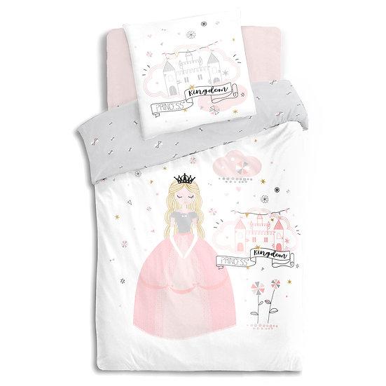 Copriletto per bambini modello Principessa