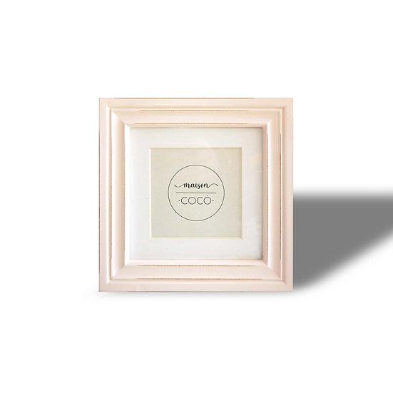 EDG Enzo De Gasperi cornice portafoto in 2 misure rosa antico